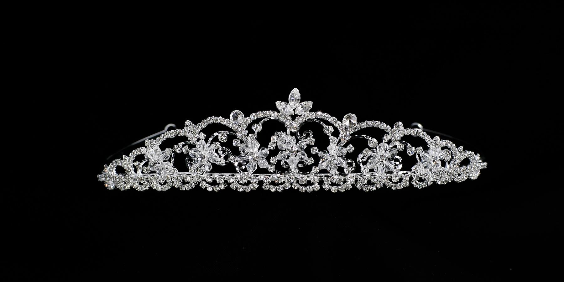 C9318 Swarovski Crystal Headpiece