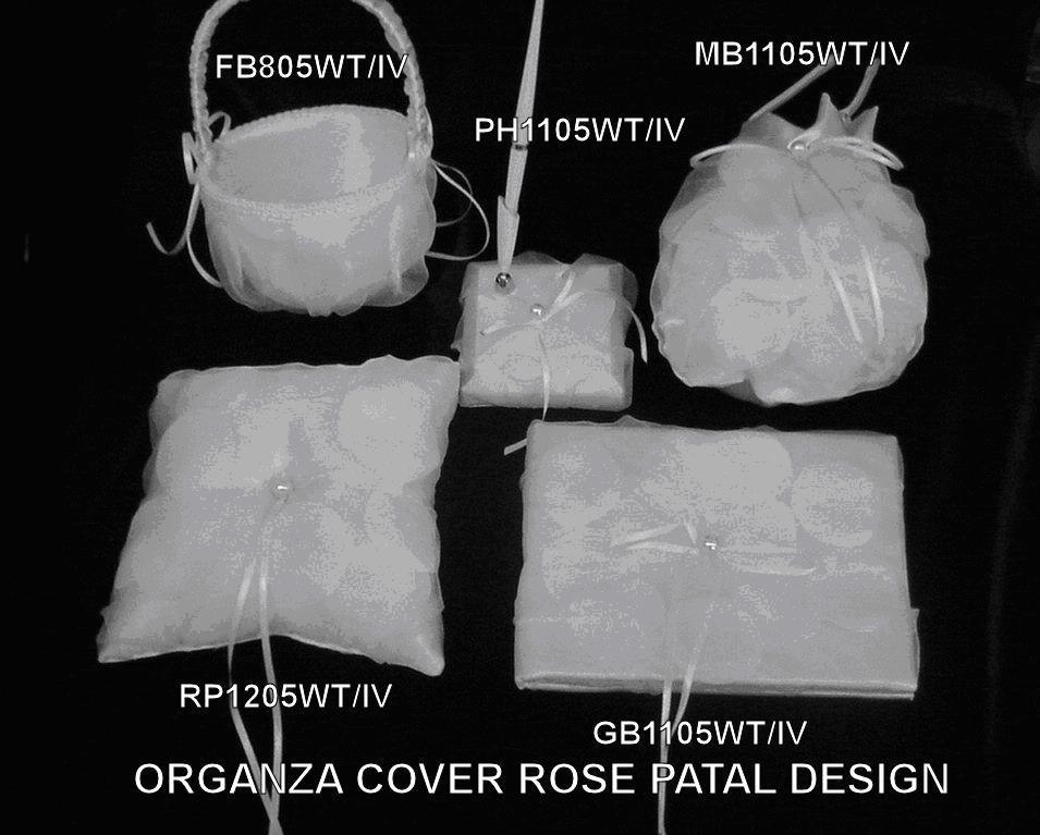 Rose Petal Wedding Set