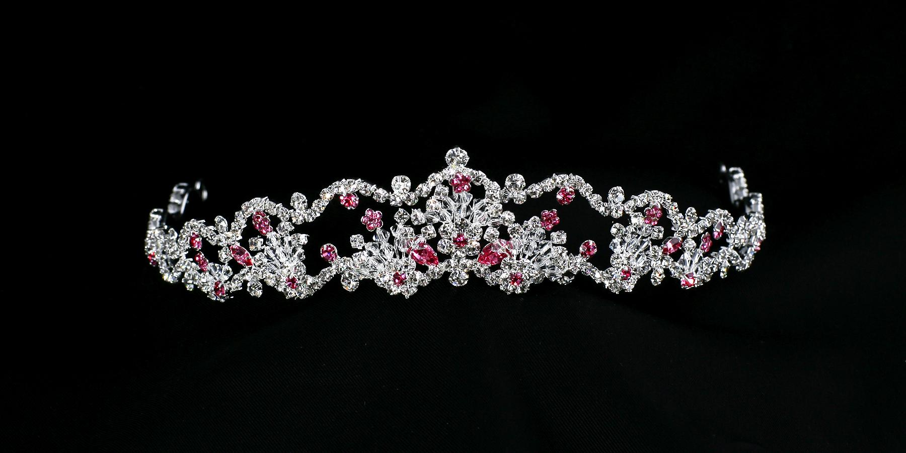 C9313 Swarovski Crystal and Rhinestone Headpiece